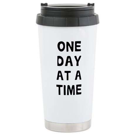 One Day Stainless Steel Travel Mug