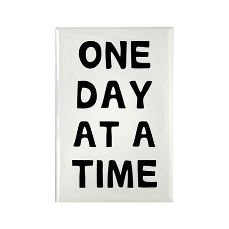 One Day Rectangle Magnet