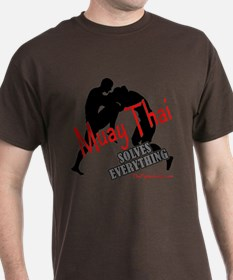 Muay Thai Solves Everything T-Shirt