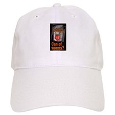 """""""Can Of Worms"""" Baseball Cap"""
