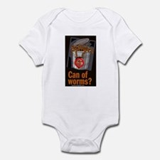 """""""Can Of Worms"""" Infant Bodysuit"""