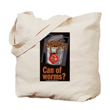 """""""Can Of Worms"""" Tote Bag"""