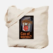 """Can Of Worms"" Tote Bag"