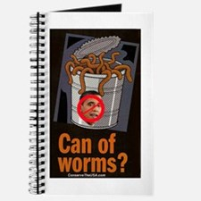 """Can Of Worms"" Journal"