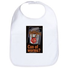 """Can Of Worms"" Bib"