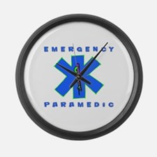 Emergency Paramedic Large Wall Clock
