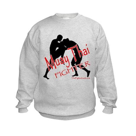 Muay Thai Fighter Kids Sweatshirt