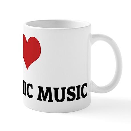 I Love Electronic Music Mug