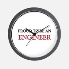 Proud To Be A ENGINEER Wall Clock