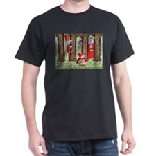 Red Riding Hood and the Wolves T-Shirt