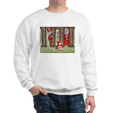 Red Riding Hood and the Wolves Sweatshirt