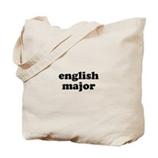 English Major Tote Bag
