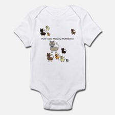 Multi Cats Infant Bodysuit
