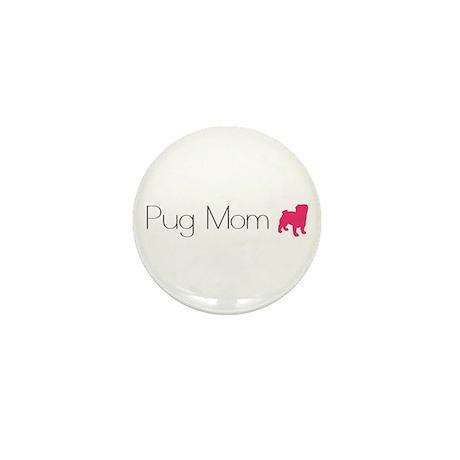 Pug Mom Mini Button (100 pack)