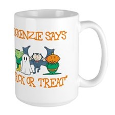 Mackenzie Says Trick or Treat Mug