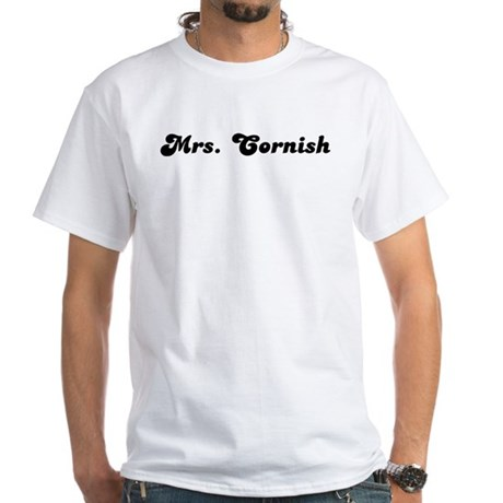 Mrs. Cornish White T-Shirt