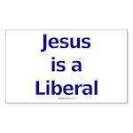 """Jesus"" Rect Sticker (10)"