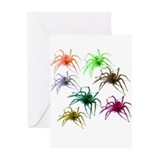 Spider Shirt (Ver 2) Colorful Greeting Card