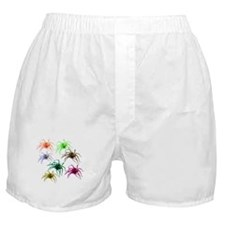 Spider Shirt (Ver 2) Colorful Boxer Shorts