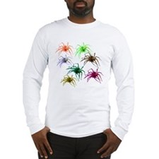 Spider Shirt (Ver 2) Colorful Long Sleeve T-Shirt