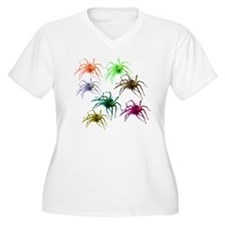 Spider Shirt (Ver 2) Colorful T-Shirt