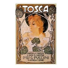 Tosca Postcards (Package of 8)