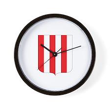 saint brice en cogles Wall Clock