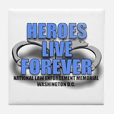HEROES Tile Coaster
