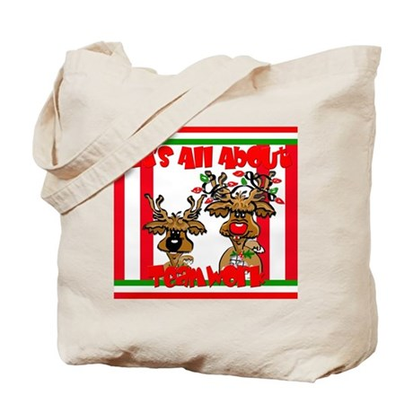 It's All About Teamwork Tote Bag