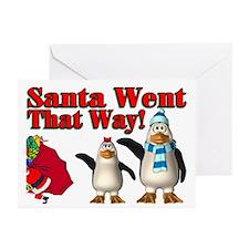 Santa Went Greeting Cards (Pk of 20)