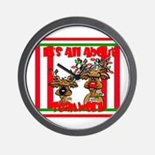 It's All About Teamwork Wall Clock