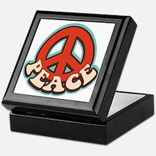 Hippy Peace Keepsake Box