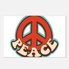 Hippy Peace Postcards (Package of 8)