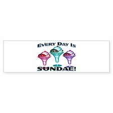 Sundae Everyday Bumper Bumper Sticker