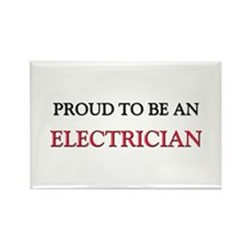 Proud To Be A ELECTRICIAN Rectangle Magnet
