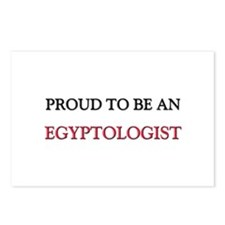 Proud To Be A EGYPTOLOGIST Postcards (Package of 8