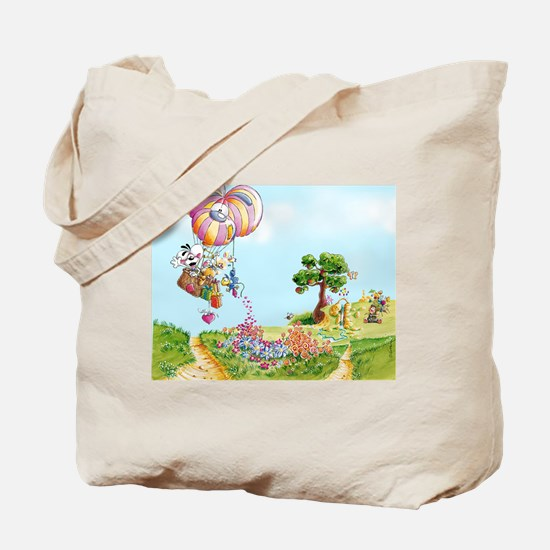 Diddl Balloon Trip Tote Bag