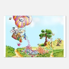 Diddl Balloon Trip Postcards (Package of 8)