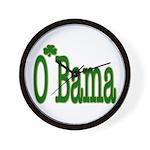 Irish For O'Bama Wall Clock