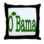 Irish For O'Bama Throw Pillow