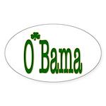 Irish For O'Bama Oval Sticker (50 pk)