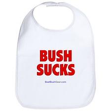 """""""Bush Sucks"""" Bib"""