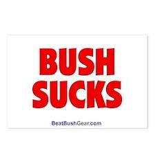 """""""Bush Sucks"""" Postcards (8)"""