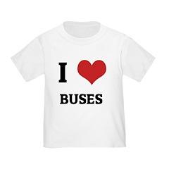 I Love Buses T