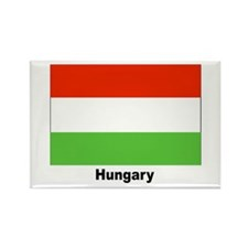Hungary Hungarian Flag Rectangle Magnet