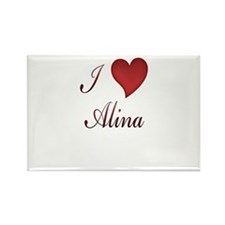 Cool Alina Rectangle Magnet