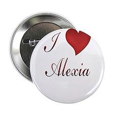 """Alexia 2.25"""" Button"""