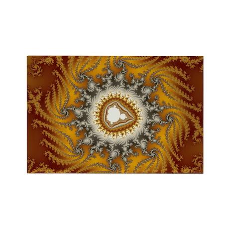 Mandelbrot fractal - Fur - Rectangle Magnet