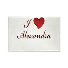Funny Alexandra Rectangle Magnet