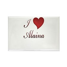 Cool Alaina Rectangle Magnet